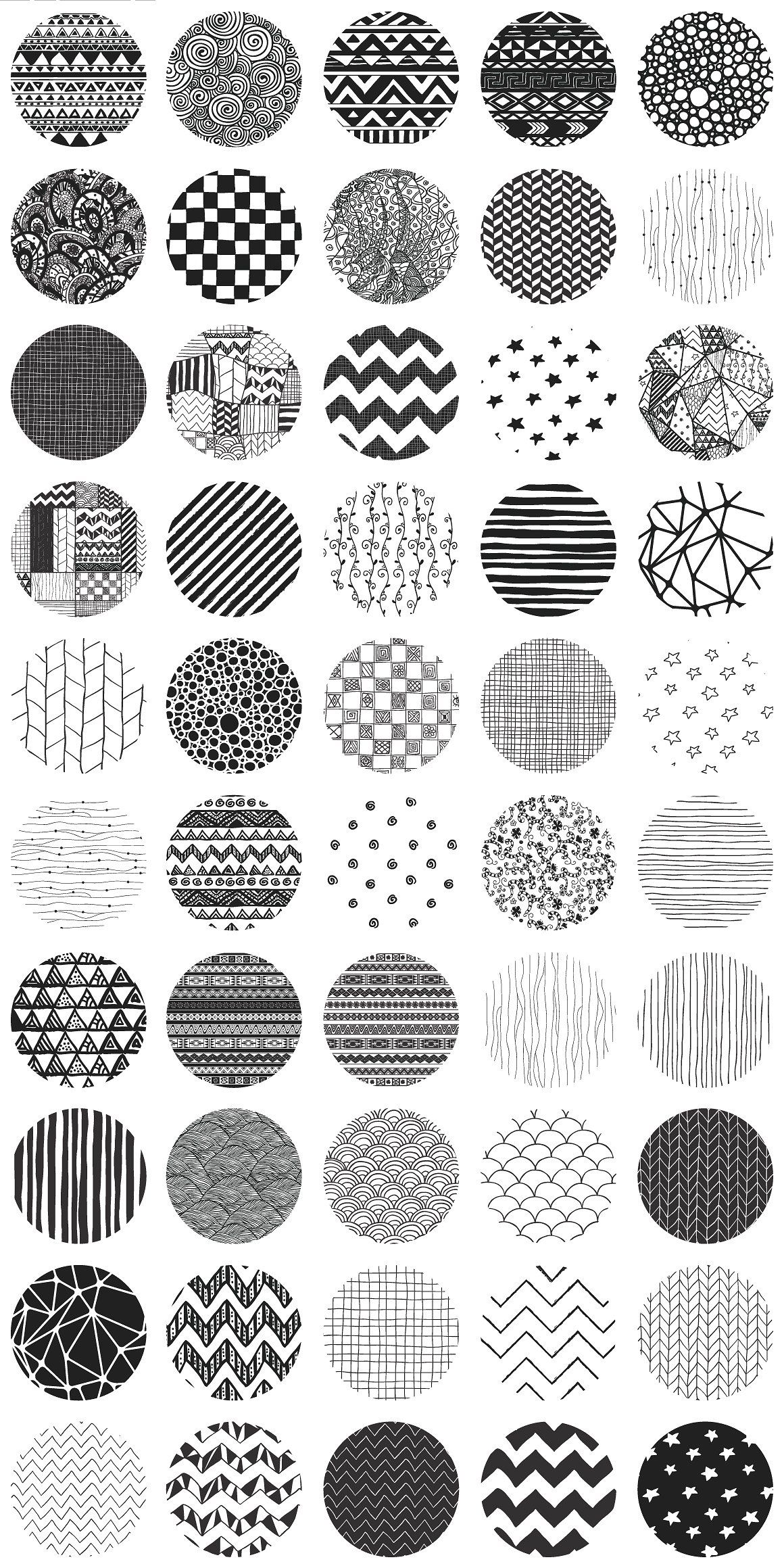 50 Hand Drawn Patterns How To Draw Hands Doodle Patterns Hand