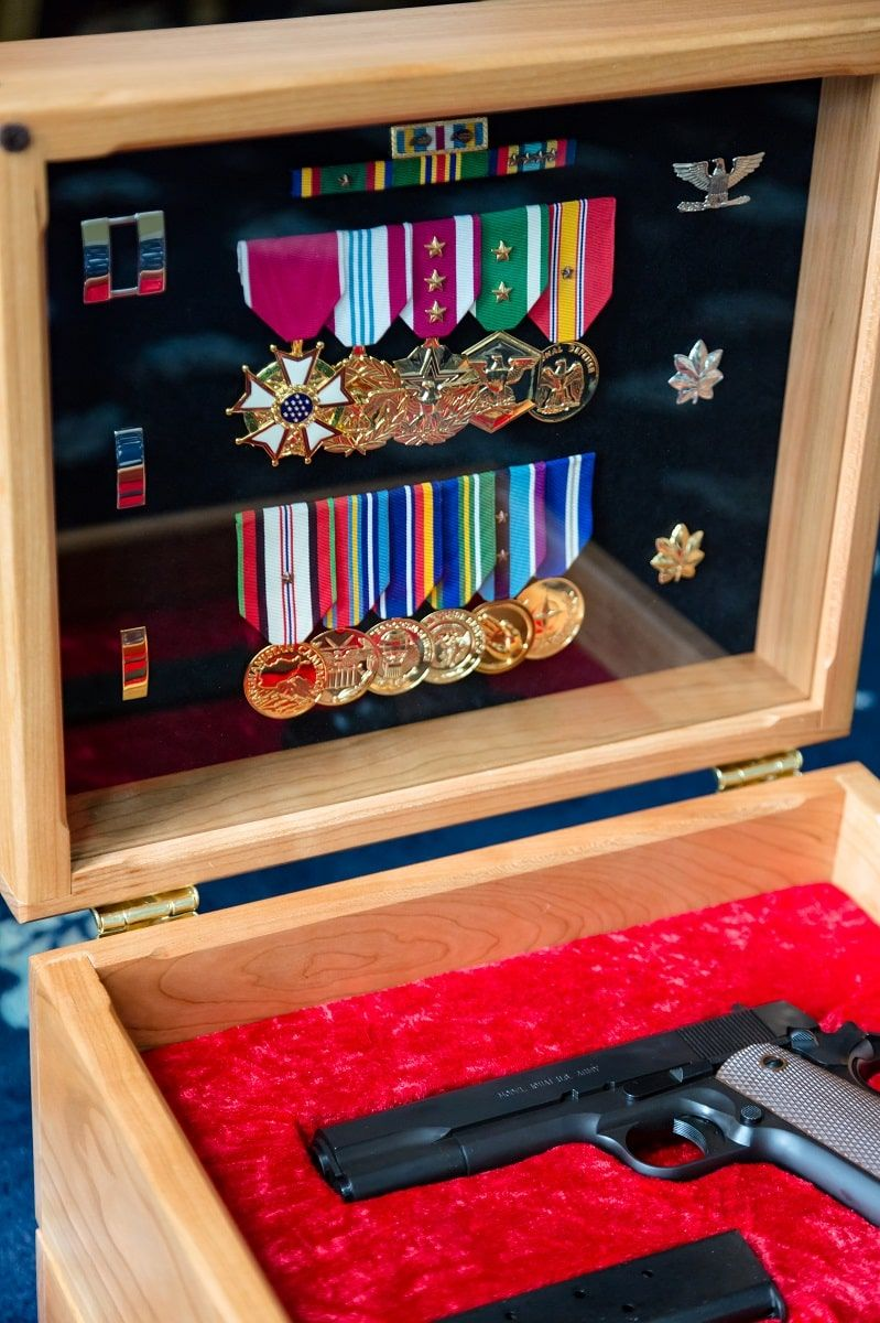 military retirement gifts for child