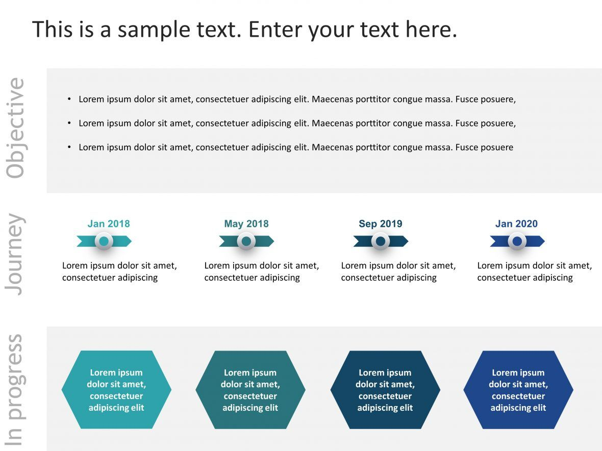 Business Review Roadmap Powerpoint Template Business Powerpoint