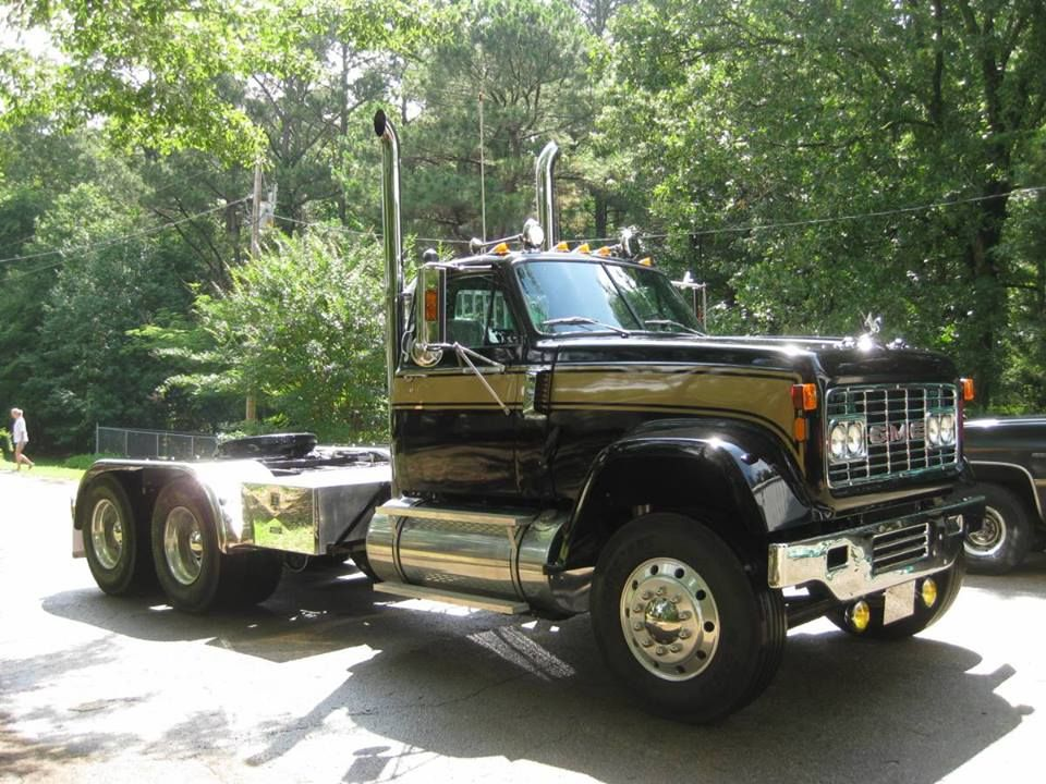 Antique Gmc Tractors : Gmc detroit diesel v ddec hp