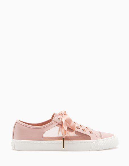 SNEAKERS - WOMAN | Stradivarius 中国 | Shoes, Tretorn sneaker ...
