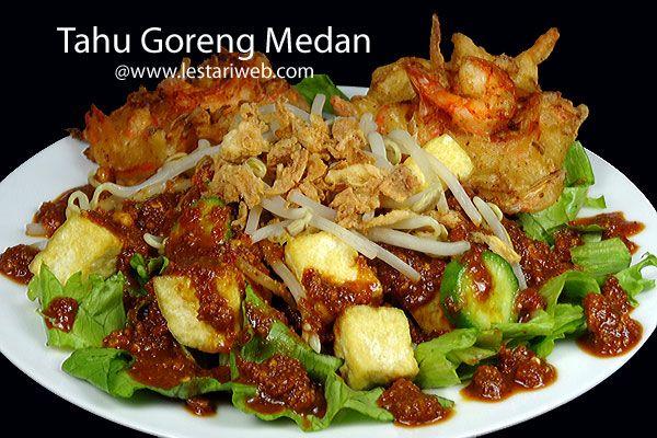 Kumpulan Resep Asli Indonesia Tahu Goreng Medan Resep Resep Masakan Asia Resep Masakan Indonesia Resep Tahu