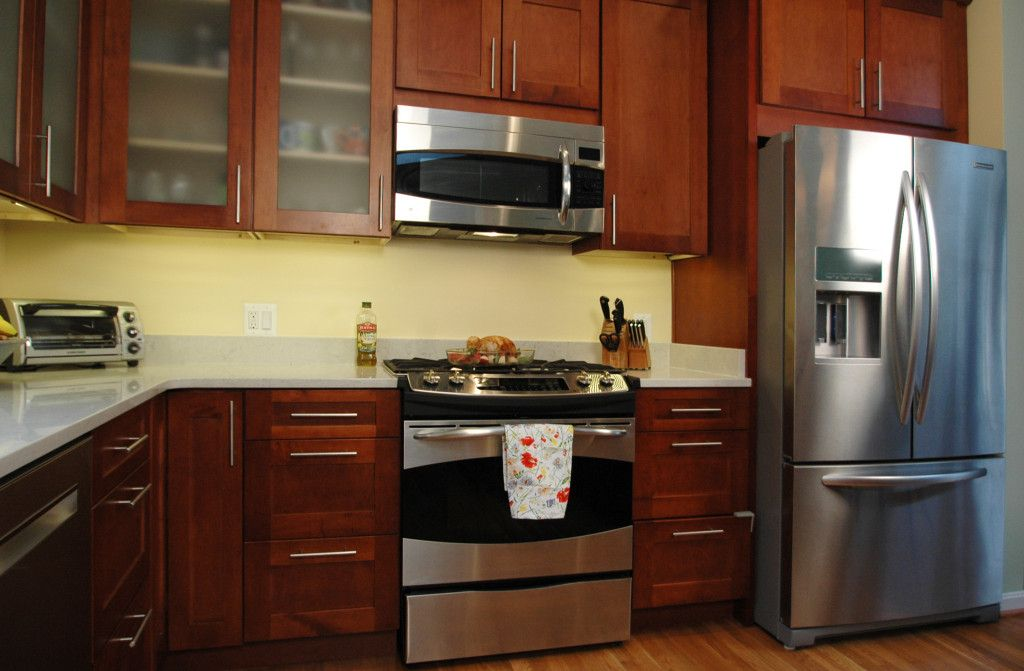 Modern Appliances update the space without breaking budget