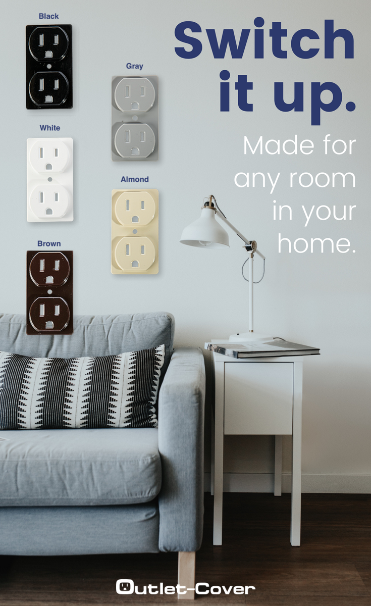 Switch It Up This Spring With Outlet Cover It S As Easy As A Snap Outlet Covers Spring Home Decor Electrical Outlet Covers