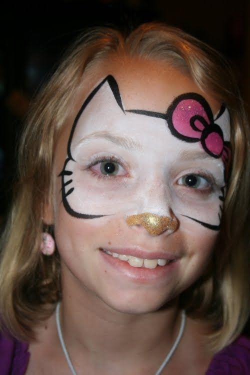 Hello Kitty Facepaint Google Search Face Painting Fun