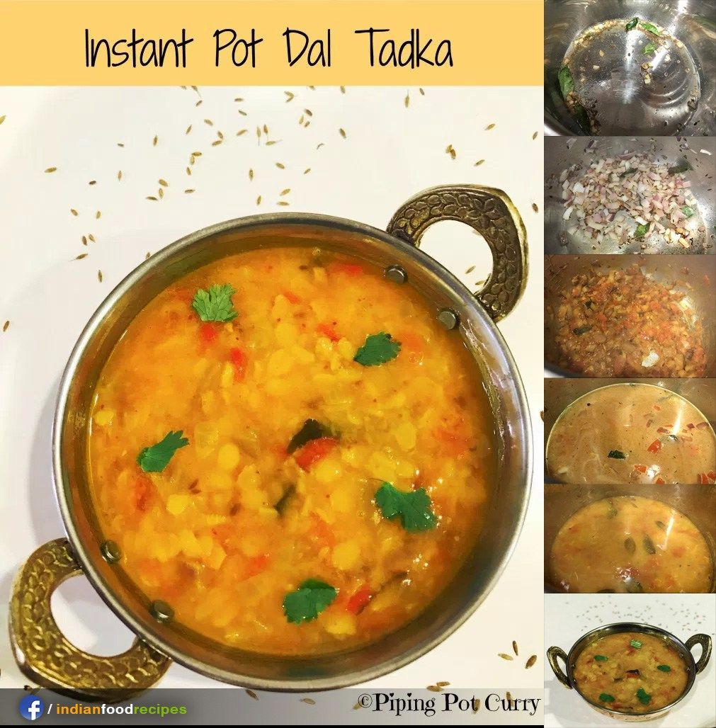 Dal tadka or yellow lentils instant pot pressure cooker recipe step dal tadka or yellow lentils instant pot pressure cooker recipe step by step forumfinder Image collections