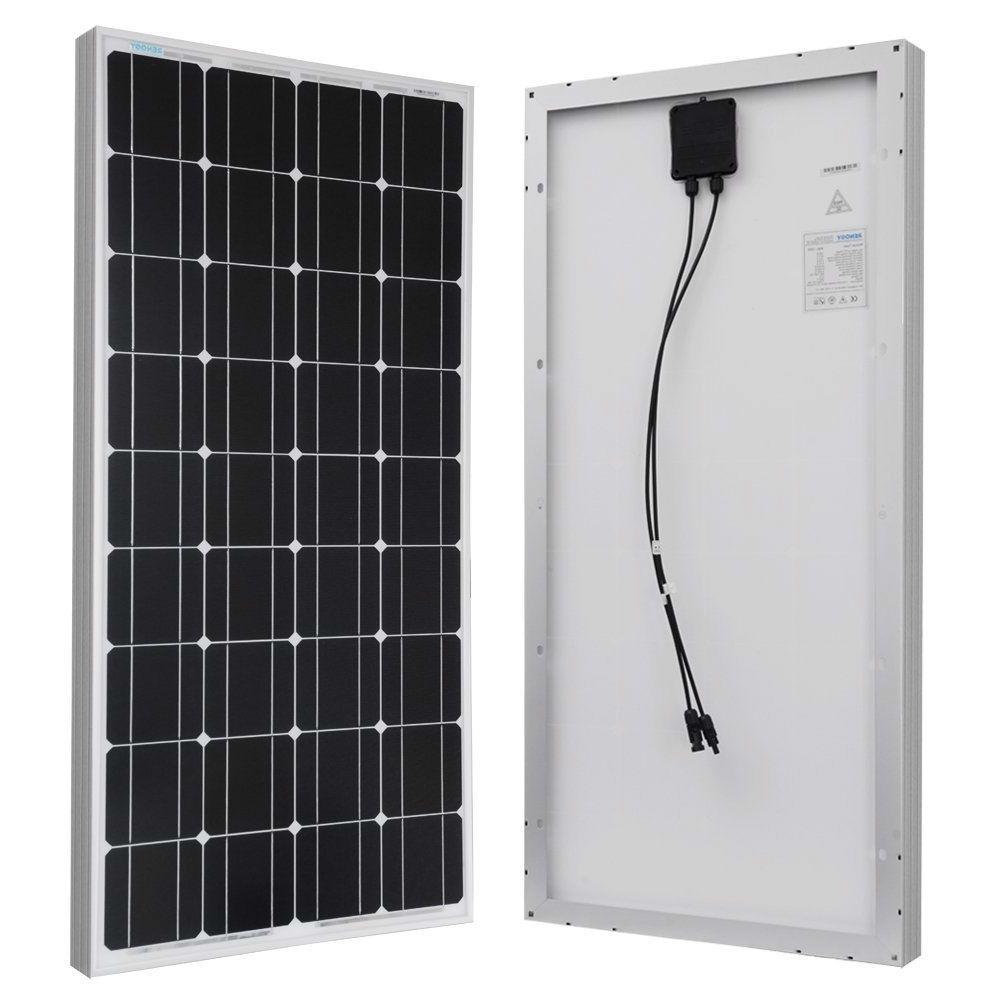 100 Watt Solar Panel Great For 12 Volt Battery Charging Rv Camping With Images Solar Panels 100 Watt Solar Panel Rv Camping