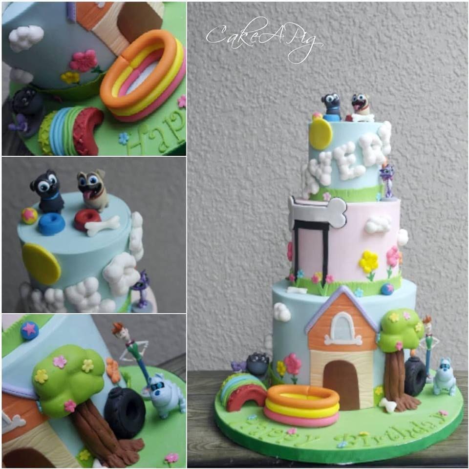 Puppy Dog Pals Cake Apollo Beach Tampa FL Birthday Celebration