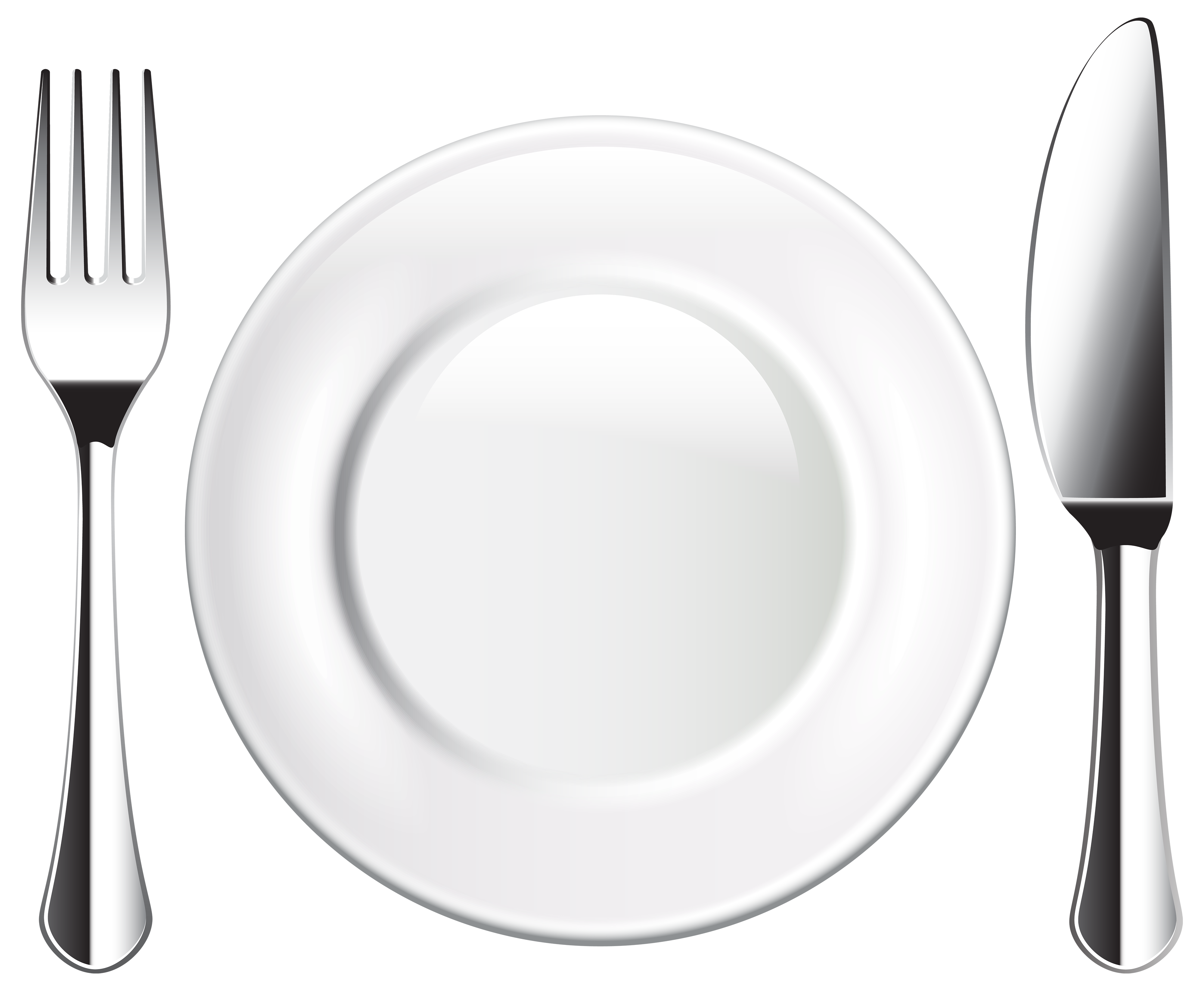 Plate Knife And Fork Png Clipart Clipart Black And White Library Kitchen Icon Kitchen Spoon Knife And Fork