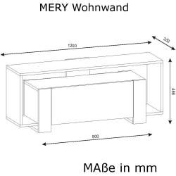 now by hülsta Tv-lowboard now easy ¦ weiß ¦ Maße (cm): B: 128 H: 45 T: 45 Kommoden & Sideboards > Lo