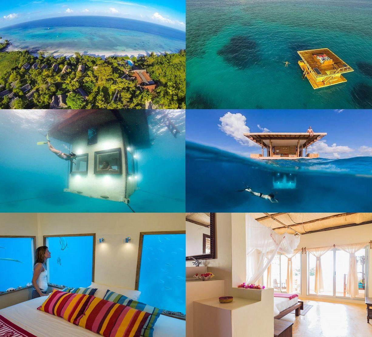 I Think This Is A Worthy Project To Build. : ) The Manta Resort, Pemba  Island, Zanzibar