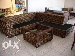 Abaca Sofa Rattan Abaca Crafts Wood Sofa And Glass Furniture Furniture Shop Wood Sofa