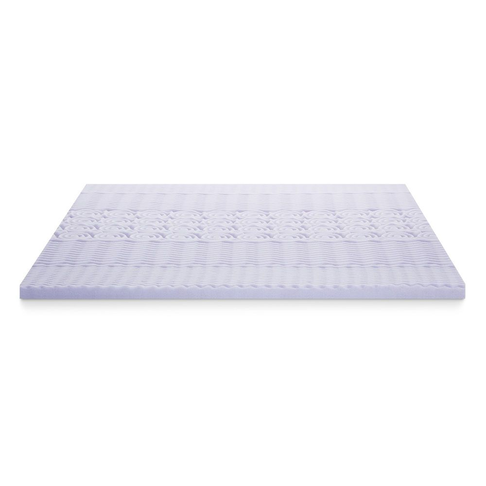 Lucid 2 Lavender Scented Zoned Memory Foam Mattress Topper Twin Xl Bedding Home Memory Foam Mattress Memory Foam Mattress Topper Mattress Topper