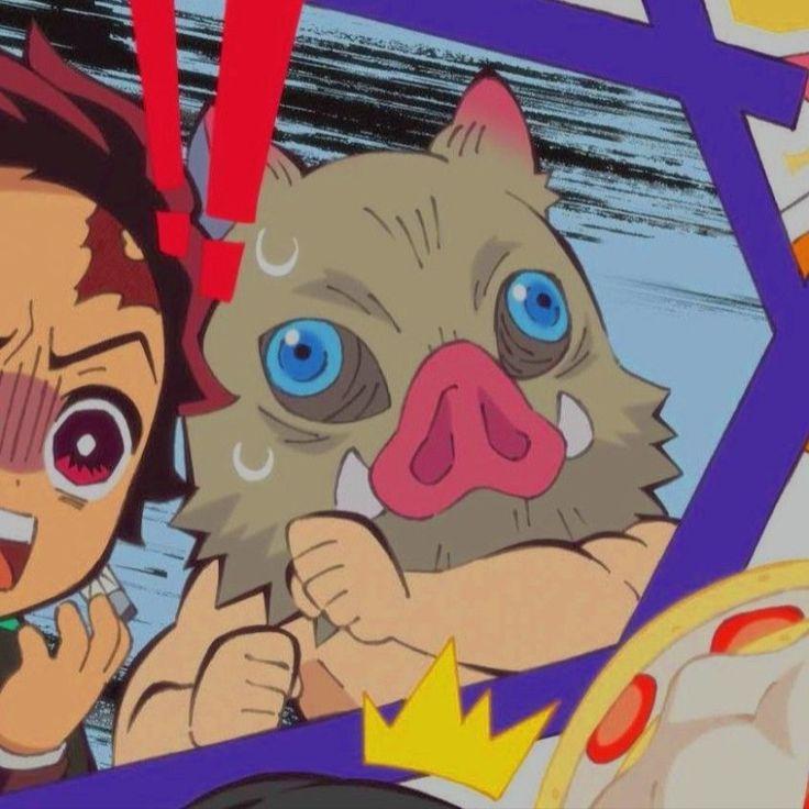 Photo of tanjiro & inosuke