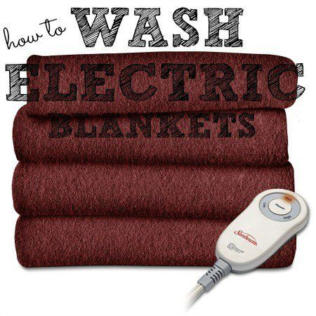 How To Wash Electric Blankets Diy Cleaning Products Cleaning
