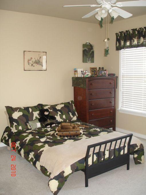 Army Bedroom Ideas Boys Room Decor