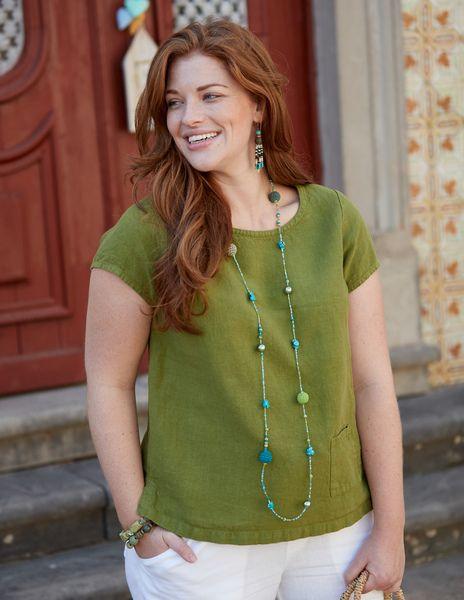 Photo of Deerberg Leinen-shirt Bladina