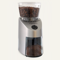 Infinity Conical Burr Grinder,  Stainless Finish $99 at Capresso.com