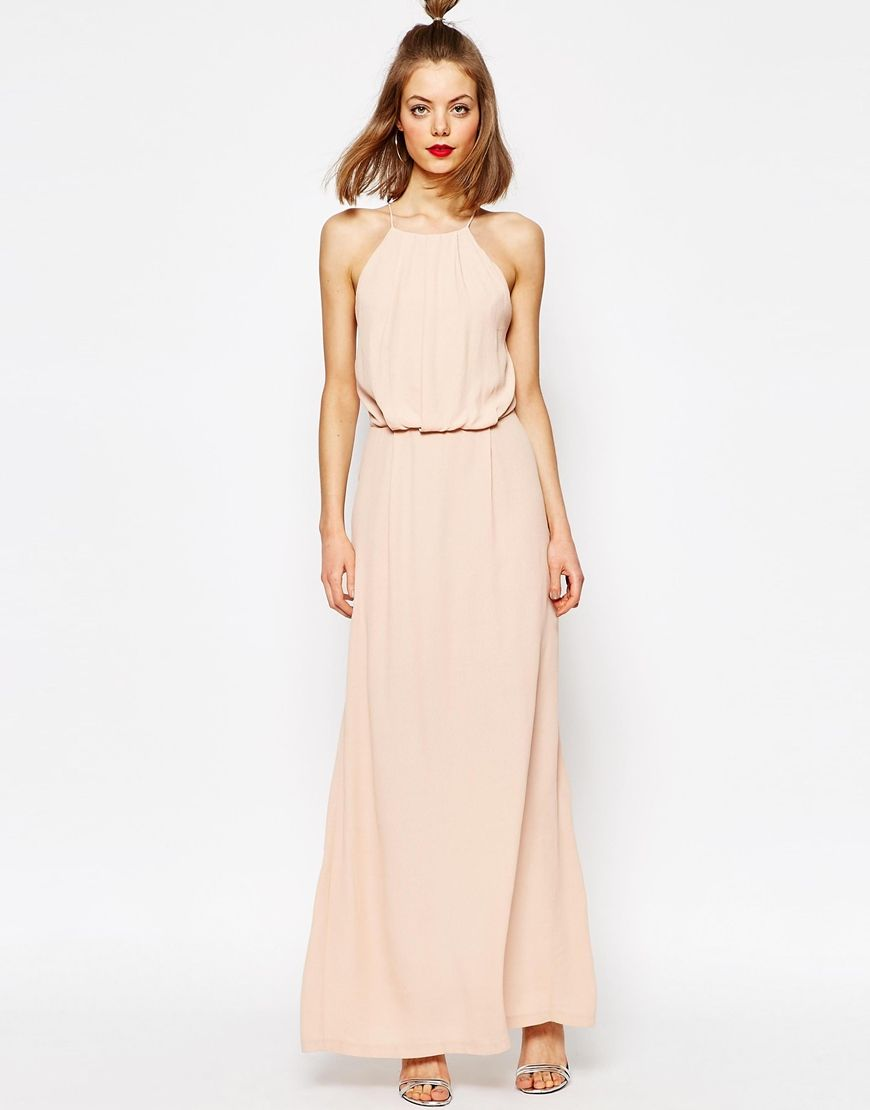 Samsoe+&+Samsoe+Willow+Maxi+Dress+with+Lace+Inserts | Dresses ...