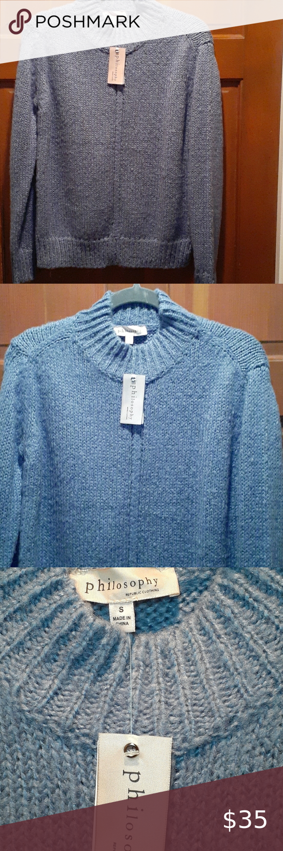Philosophy Women Sweater Sweaters For Women Sweaters Long Sleeve Sweater