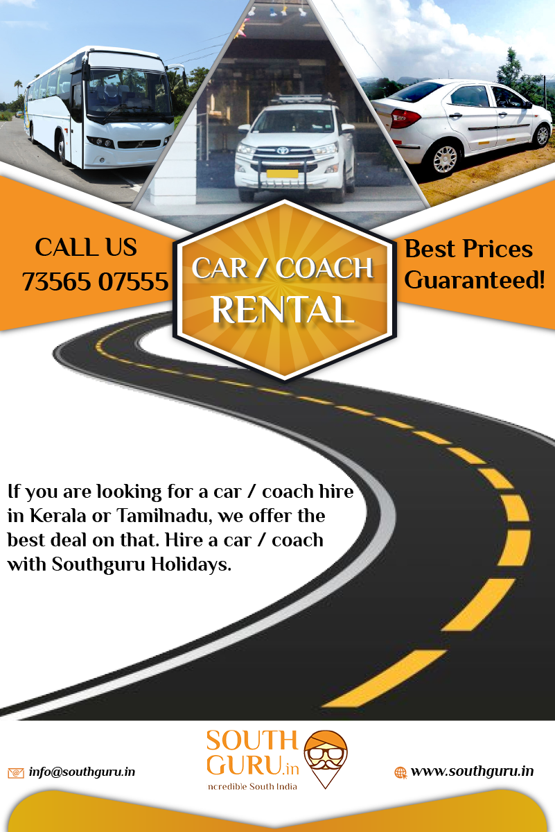 If you are looking for cheap car hire in Kerala and