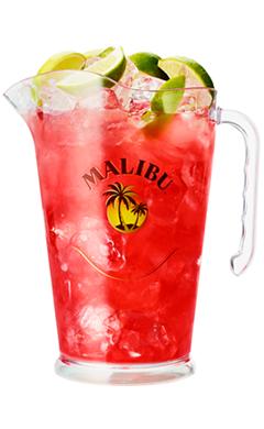 Malibu Mali Woo Woo Pitcher Malibu Rum Drinks Malibu Cocktails Pitcher Cocktails