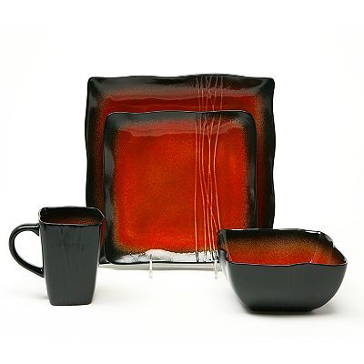 Baum Galaxy Red Dinnerware Collection....can\'t wait to spice up my ...
