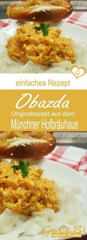 Photo of Obazda – recipe from the Munich Hofbräuhaus cookbook