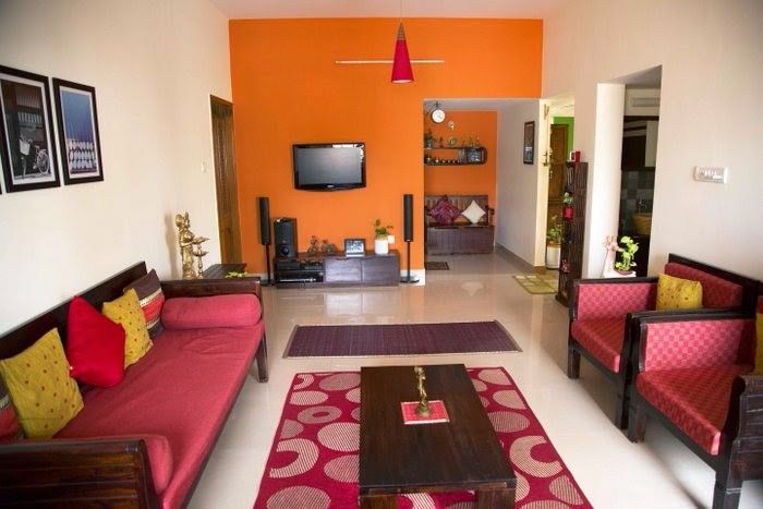 Interiors .. Indian Living RoomsWarm Living RoomsLiving Room ColorsLiving  Room DecorLiving Room IdeasEthnic ... Part 45