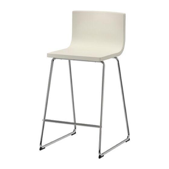 Bar stool with backrest, BERNHARD KP APT Pinterest - küchentisch mit barhockern