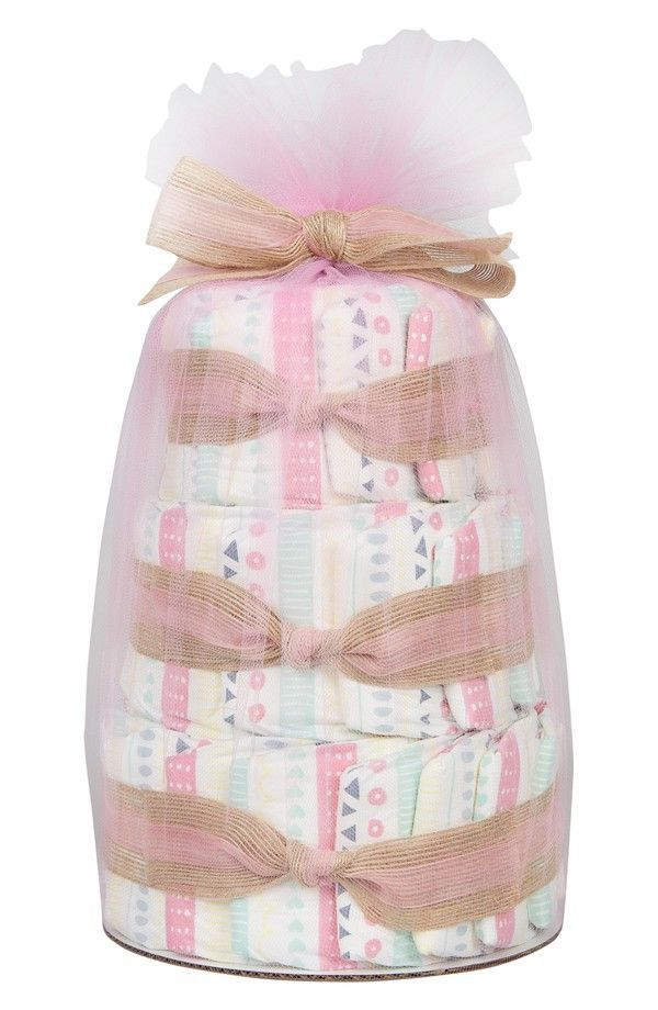 Honest Co. Mini Diaper Cake