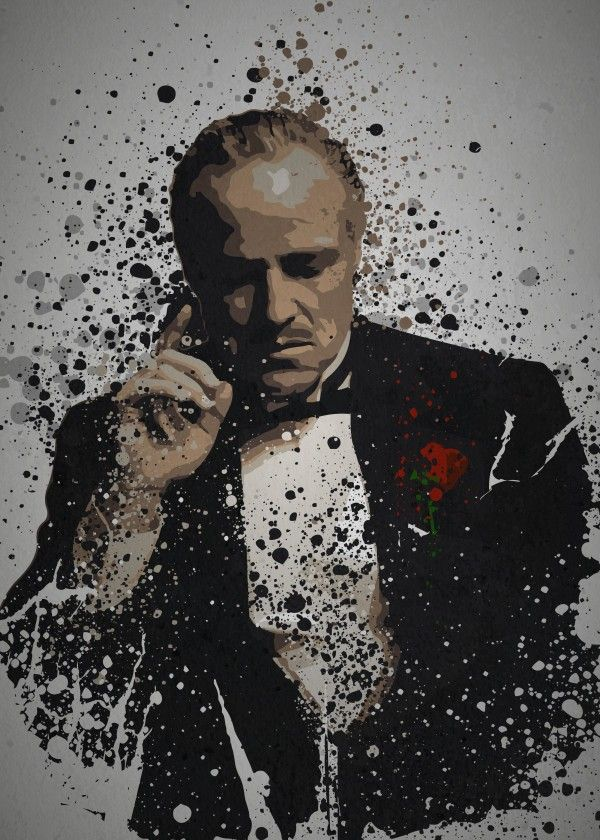 Peaky Blinders Iphone Wallpaper Godfather Don Vito Corleone Pop Culture Splatter Gangster