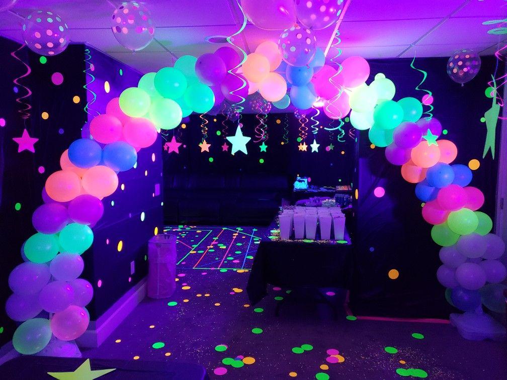 Neon Glow In The Dark Party Glow Birthday Party Glow Party Glow Birthday