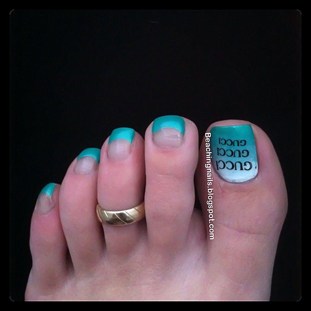 Gucci Toes (With images) Nail candy, Toe nail art, Foot
