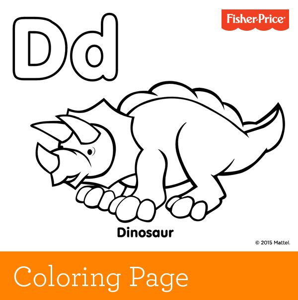 D Is For Dinosaur Get Your Roar On And Continue Your Alphabet