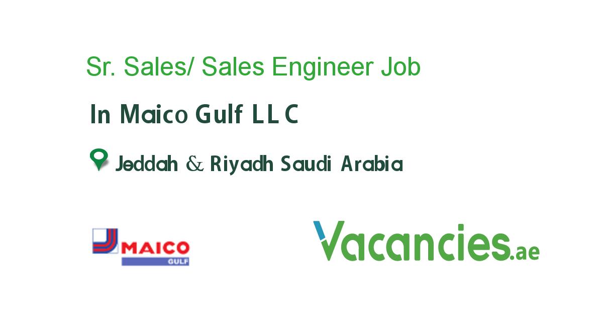 Sr Sales Sales Engineer Engineering Careers Job Specification Sales And Marketing