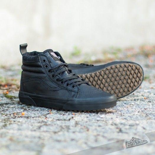 Vans Sk8-Hi MTE Black/ Leather   Mens