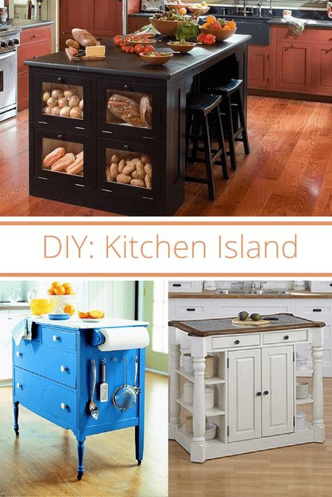 Make Your Own Kitchen Island In 4 Simple Steps!