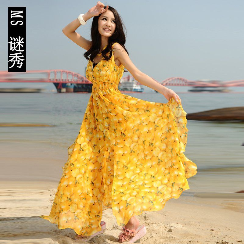 Images of Summer Beach Dresses Sale - Reikian