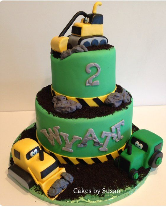 Tractor cake Cool cakes and cupcakes Pinterest Cake Dump