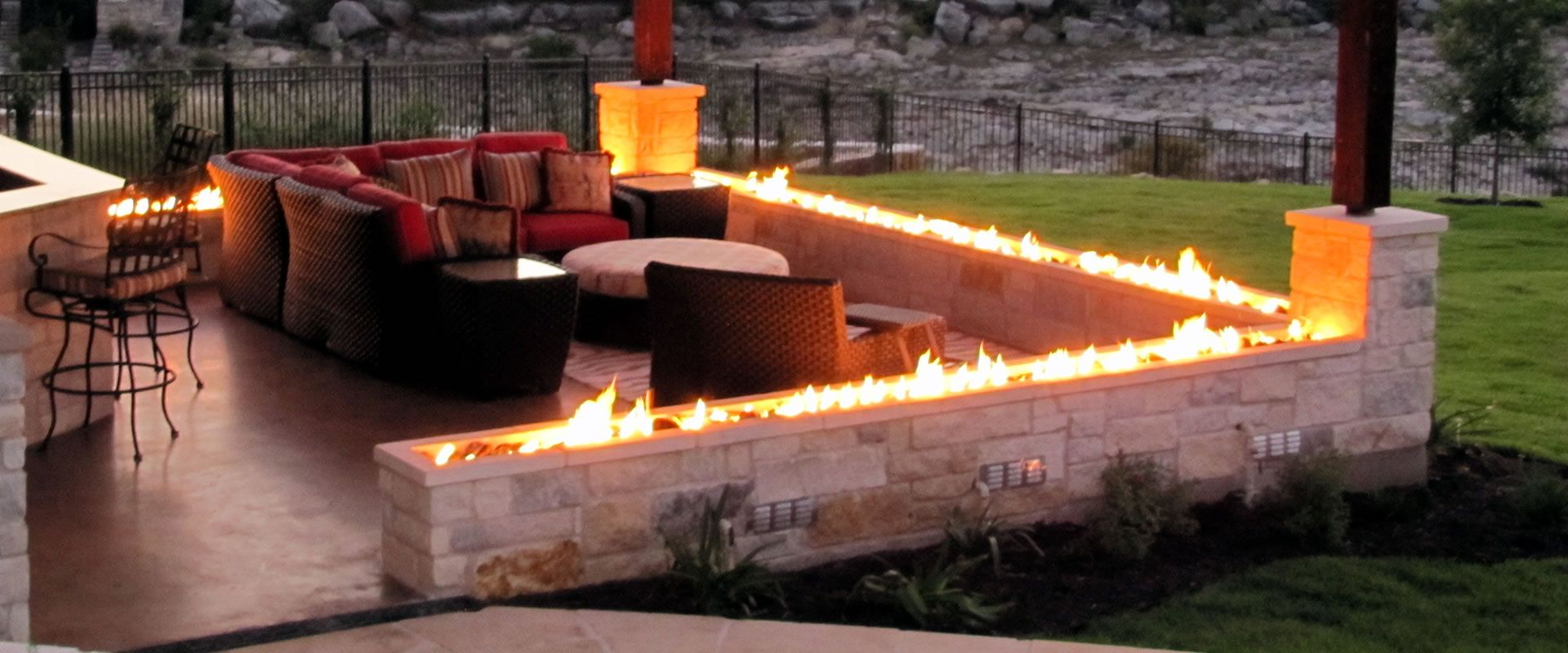 When You Are Looking At Diffe Fire Features Will See Flame Of All Designs For Your Pool Make Come To Life With