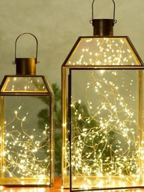 Gorgeous Indoor Decor Ideas With Christmas Lights Christmas decor