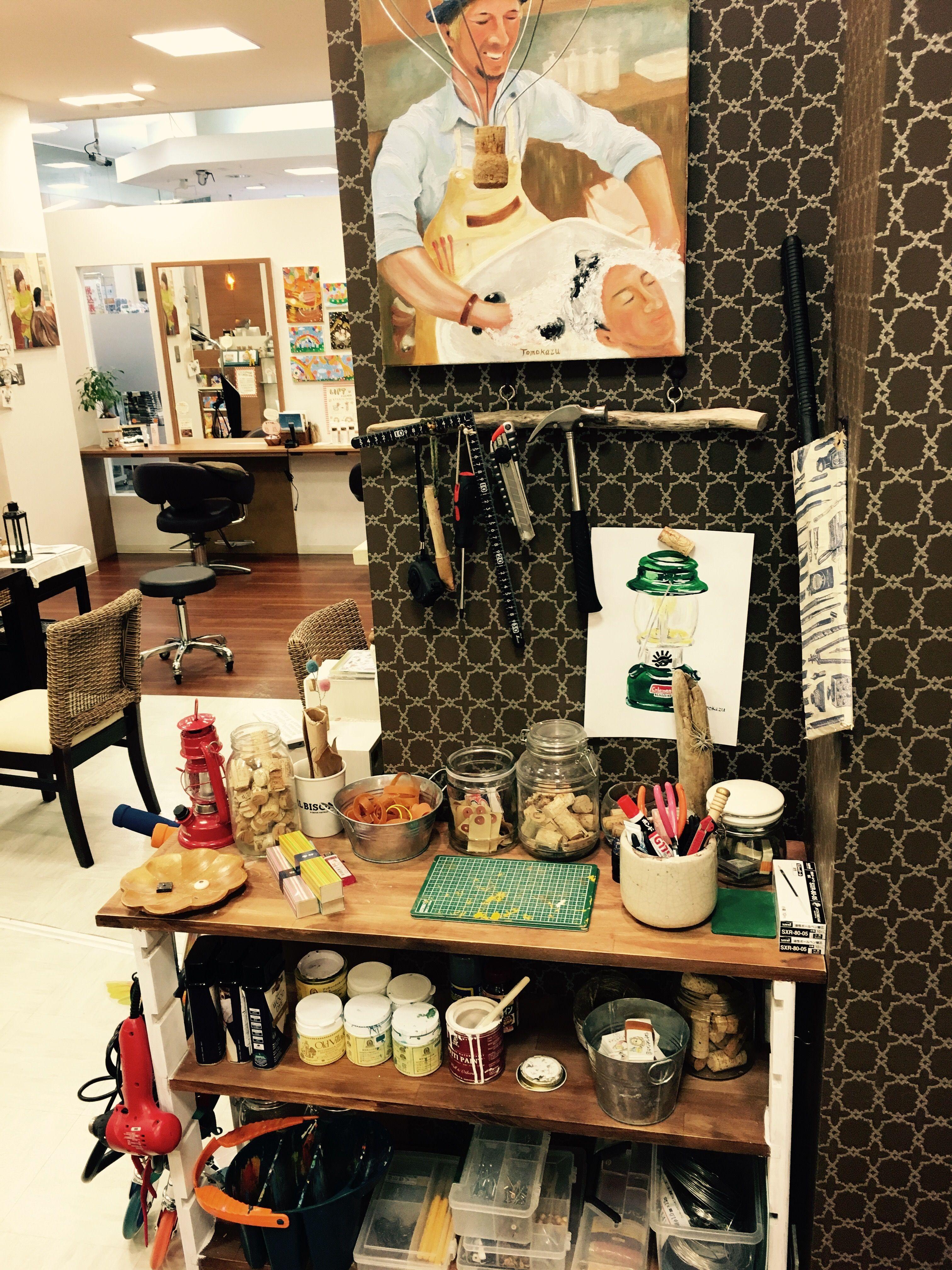 私は店内のここが好きだ!トップ5 | 南砺市美容室コッコロ