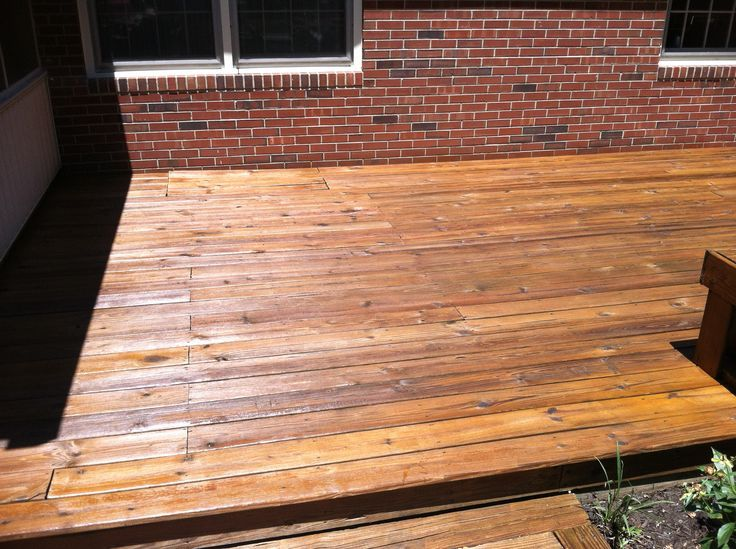 Beautiful Newly Stained Deck With Cabot Australian Timber Oil Cabot Australian Timber Oil Staining Deck Rustic Deck