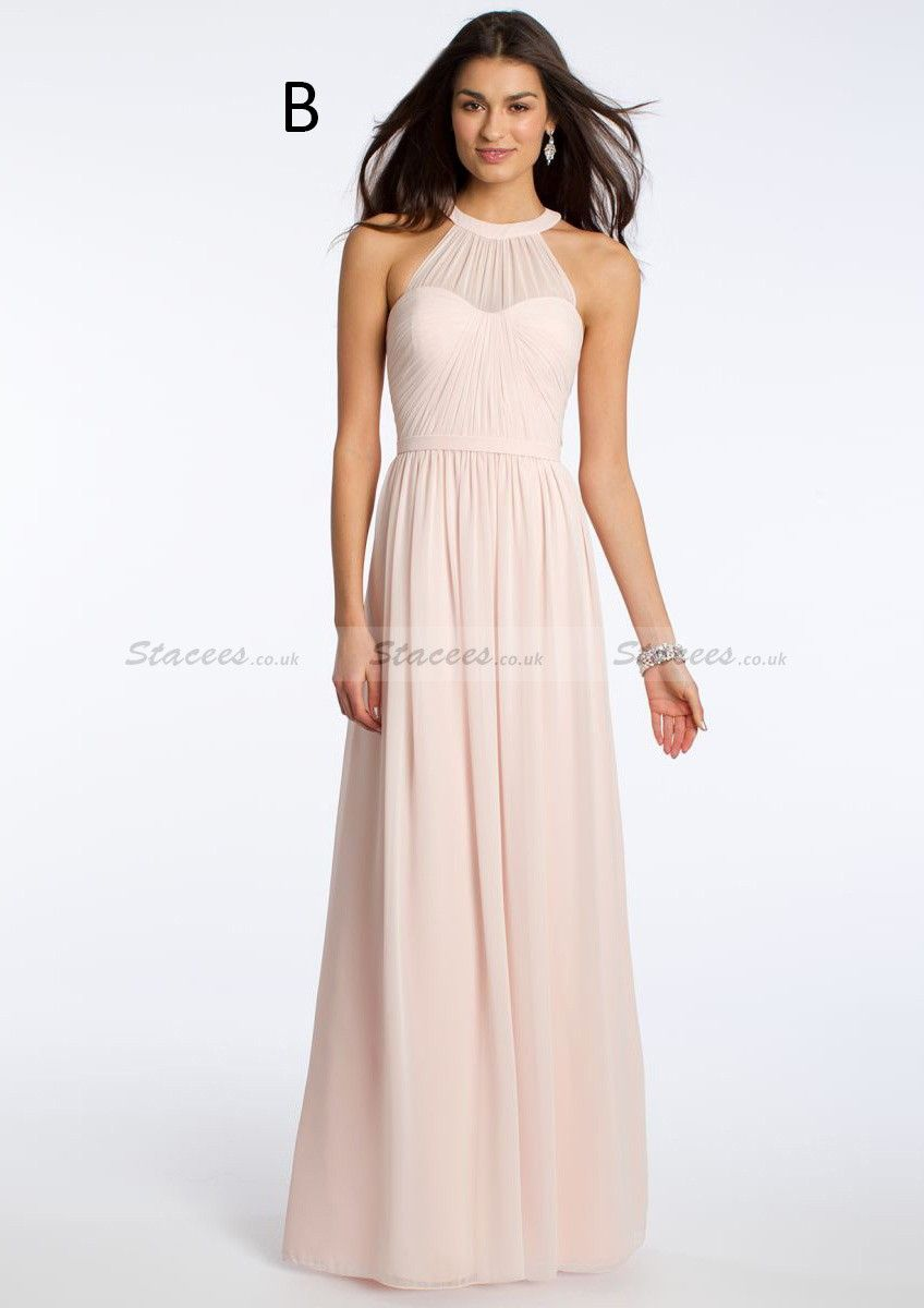 A lineprincess sleeveless sweetheart longfloor length chiffon illusion halter dress from camille la vie and group usa ombrellifo Images