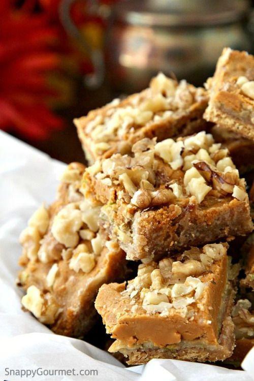 Butterscotch Apple Toffee Bars RecipeReally nice recipes. Every  Mein Blog: Alles rund um die Themen Genuss & Geschmack  Kochen Backen Braten Vorspeisen Hauptgerichte und Desserts # Hashtag