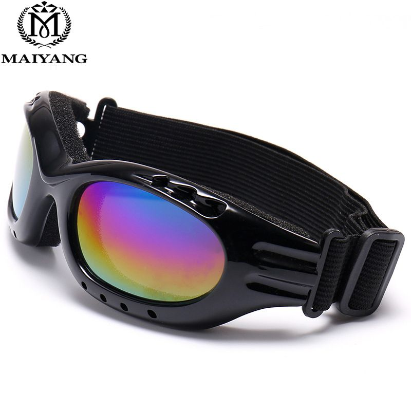 206966178ee5 Men Women Winter Outdoor Ski Goggles UV400 Anti-fog Big Ski Mask Glasses  Skiing Snow