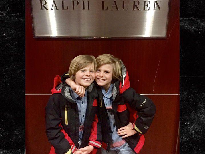 Big Little Lies Twins Land Ralph Lauren Modeling Gig Big Little