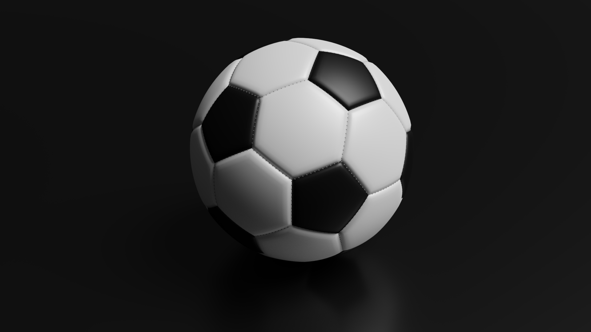 High Detailed Football Ball Detailed High Ball
