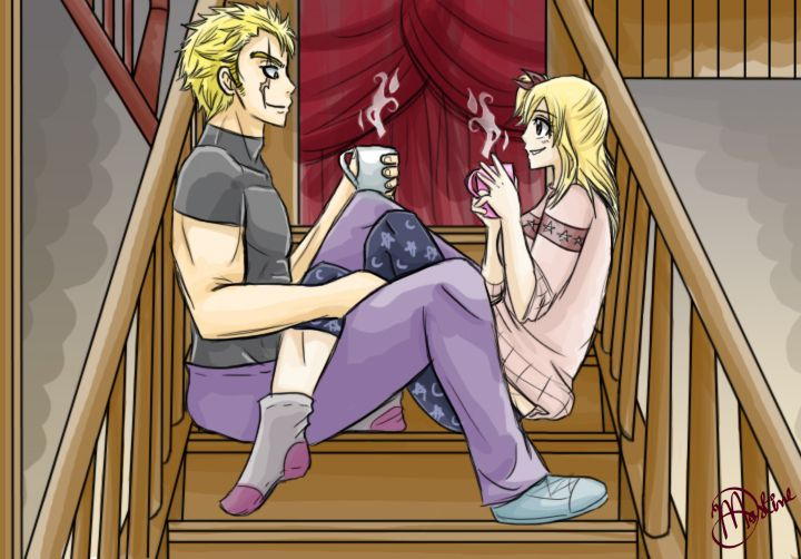 Laxus x Lucy Request by knuckleheadedhero | Fairy tail